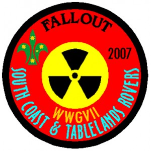 WWG North VII - Fallout Badge