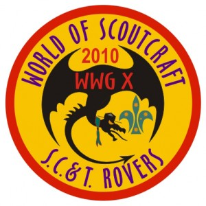 WWG North X - World Of Scoutcraft Badge