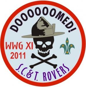 WWG North XI - Doooooomed Badge