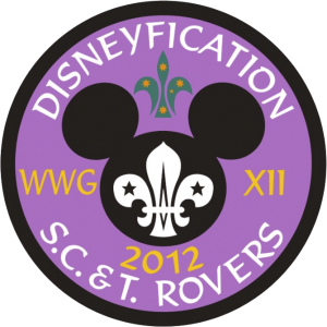 WWG XII - Disneyfication Badge